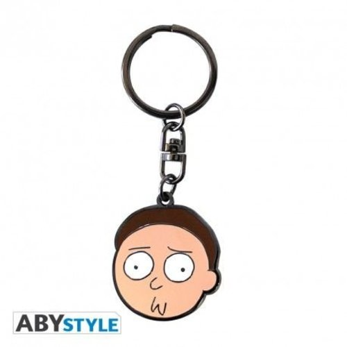 Rick and Morty Keychain Morty
