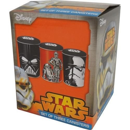 Star Wars Set of Three Cannisters