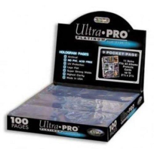 Ultra Pro Hologram Pages 9 Pocket 11 Hole