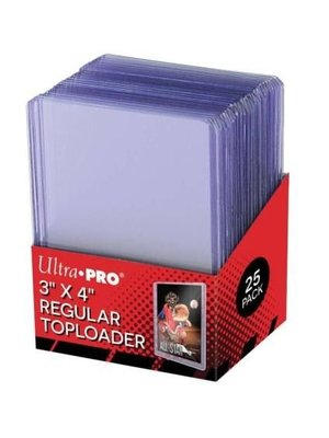 Ultra Pro 3x4 Regular Toploader TCG