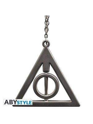 Harry Potter 3D Deathly Hallows Keychain