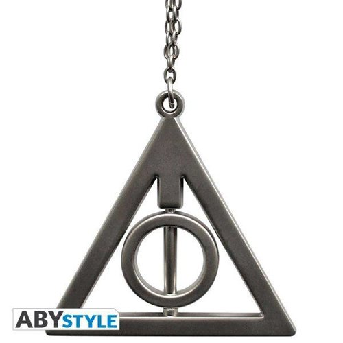 Harry Potter 3D Deadly Hallows Keychain
