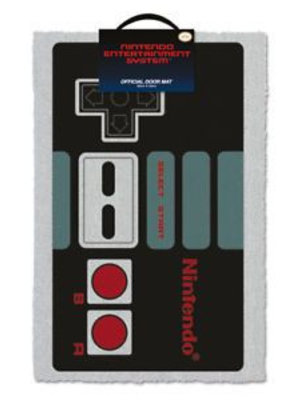 Nintendo Nes Controller Doormat 60x40 PVC met Kokosvezels