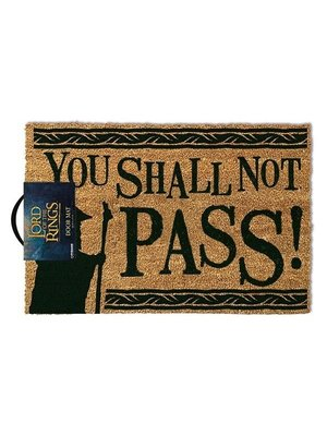 Lord of the Rings You Shall Not Pass Doormat 60x40 PVC met Kokosvezels