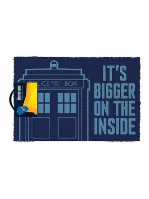 Doctor Who Tardis Doormat 60x40 PVC met Kokosvezels