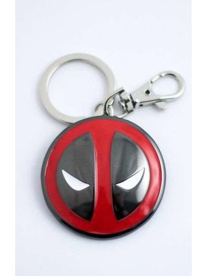 Marvel 3D Deadpool Logo Metal Keychain