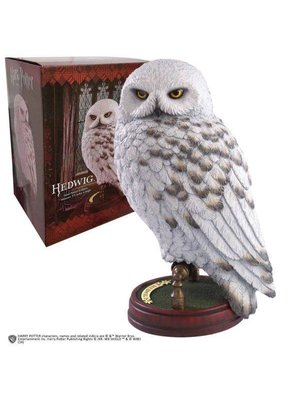 Harry Potter Hedwig 24cm Hand Painted Sculpture Noble Collection
