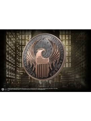 Fantastic Beasts Macusa Crest Wall Art Emblem Noble Collection