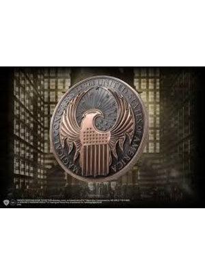 Fantastic Beasts Macusa Crest Wall Art Emblem