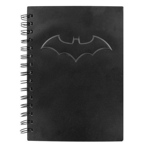 Gadgy Batman Notebook Black With Logo