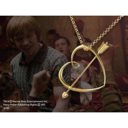 Harry Potter Ron Weasley Sweetheart Necklace