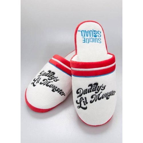 Suicide Squad Harley Quinn Slippers 34/37