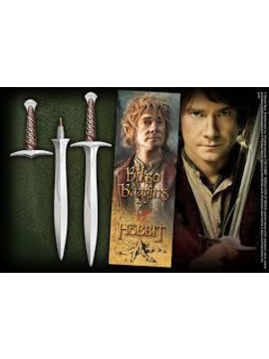 The Hobbit Sting Sword Pen + Bookmark Noble Collection