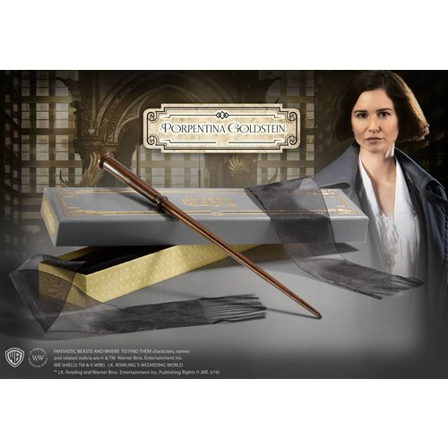 The Noble Collection Fantastic Beasts Deluxe Wand Porpentina Goldstein Noble Collection