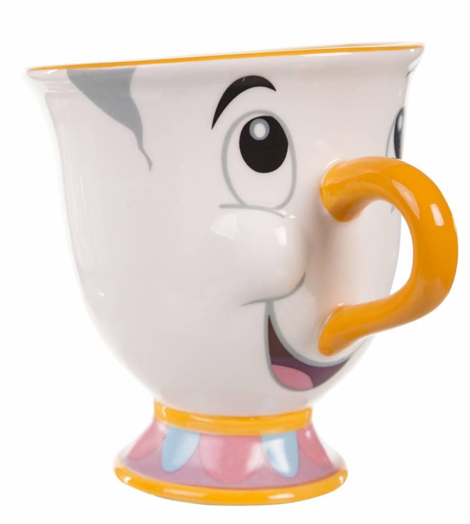 Spiksplinternieuw Disney Beauty and the Beast Chip Mug - Geekstore.nl VK-21