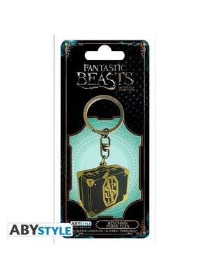 Fantastic Beasts 2 Newt Suitcase Keychain