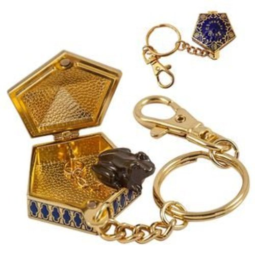 Harry Potter Chocolate Frog Keychain Prop Replica Noble Collection