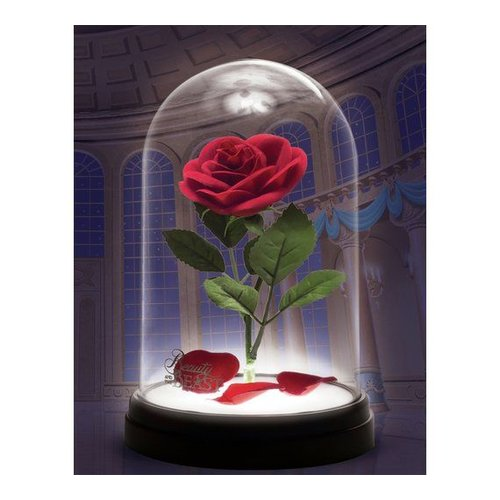 Disney Beauty and the Beast Enchanted Rose Light USB