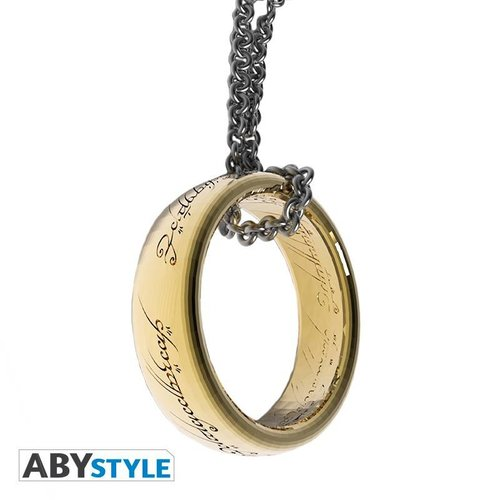 The Lord Of The Rings 3D Ring Keychain