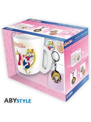 Sailor Moon Gift Set Mug / Buttons / Keychain