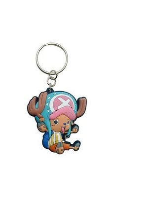 One Piece Chopper Rubber Keychain