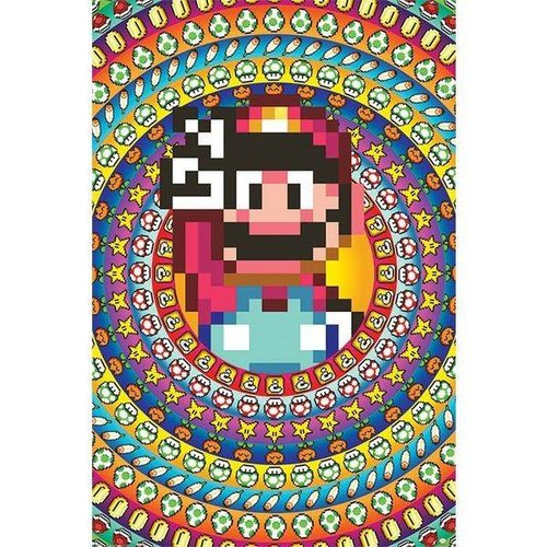 Super Mario Power Ups Maxi Poster 61x91.5