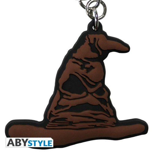 Harry Potter Sorting Hat Rubber Keychain