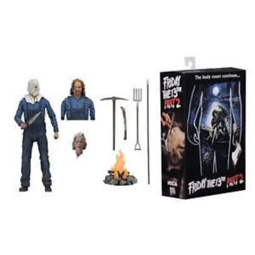 Friday The 13th Ultimate Part 2 Jason 7inch Scale Action NECA Figure