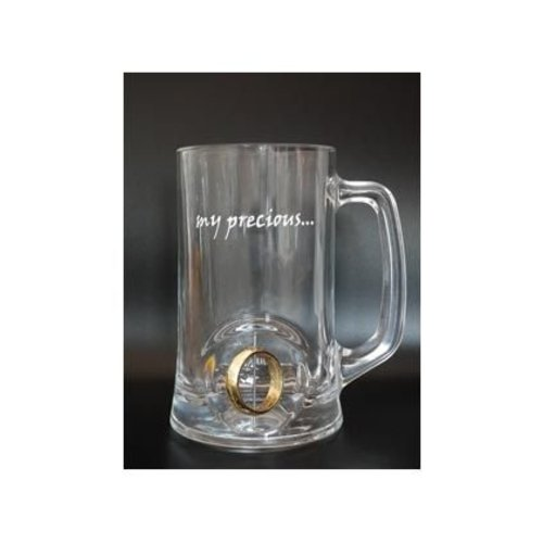 Lord of the Rings Crystal Beer Stein 3D Rotating Ring