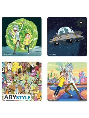 Rick and Morty Coaster Set (4)
