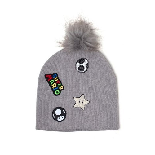Super Mario - Patches - Beanie