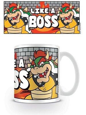 Nintendo Super Mario Bowser Like a Boss Mug 300ml