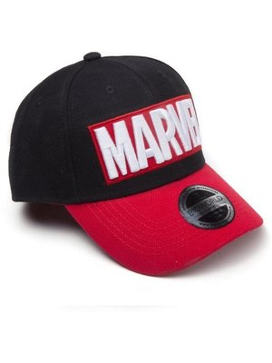 Marvel Red Brick Logo Cap