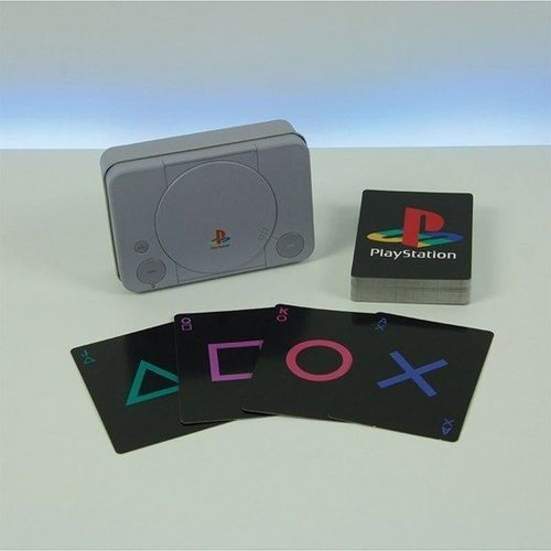 Playstation Playing Cards PS1 Tin