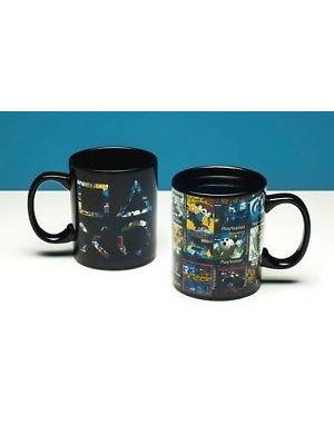 Playstation Icons Heat Change Mug