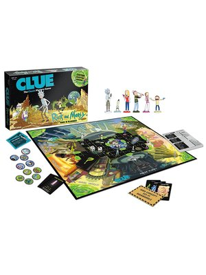 Rick and Morty Cluedo Board Game Hasbro Gaming