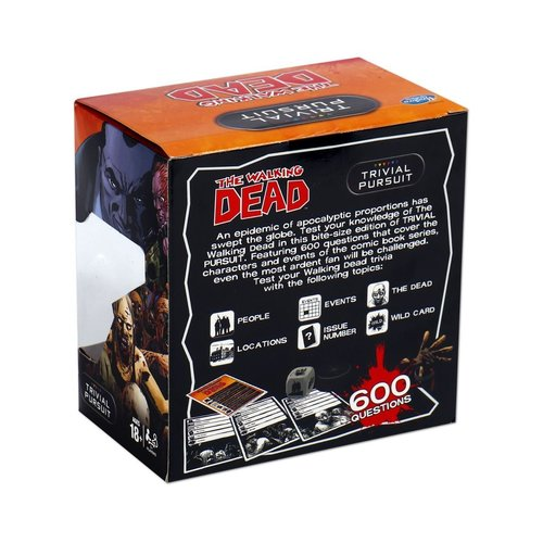 The Walking Dead Trivial Pursuit Engels Hasbro Gaming