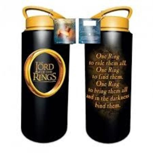 Lord of the Rings Drink Bottle Metal 700ml