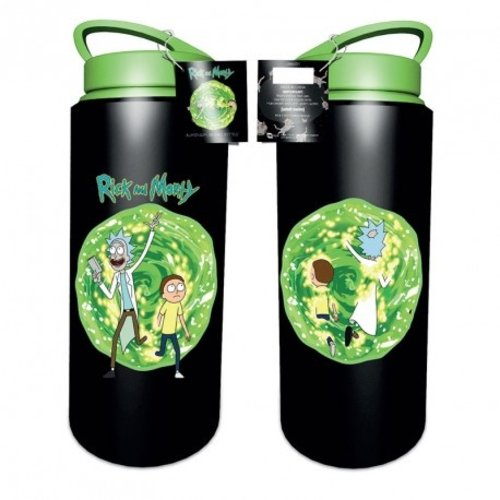 Rick and Morty Portal Water Bottle Metal 700ml