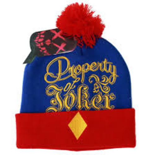 Suicide Squad Property of Joker Beanie