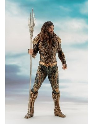 DC Comics Justice League Movie Aquaman PVC Statue ARTFX+