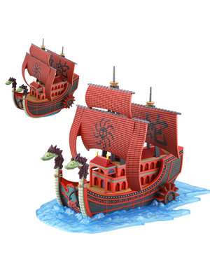 One Piece Model Kit Grand Ship Kuja Pirates Ship (Bouwpakket) Bandai