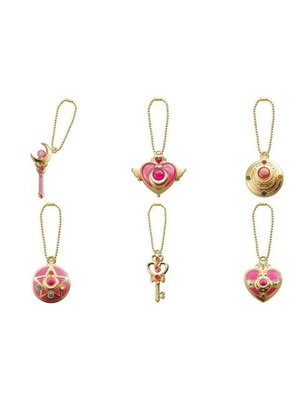 Sailor Moon Diecasting Charms Set of 6 Pieces Bandai