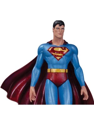 DC Collectibles Superman The Man of Steel Statue by Moebius Hand Sculpted