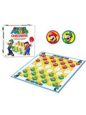Nintendo Super Mario Checkers Boardgame
