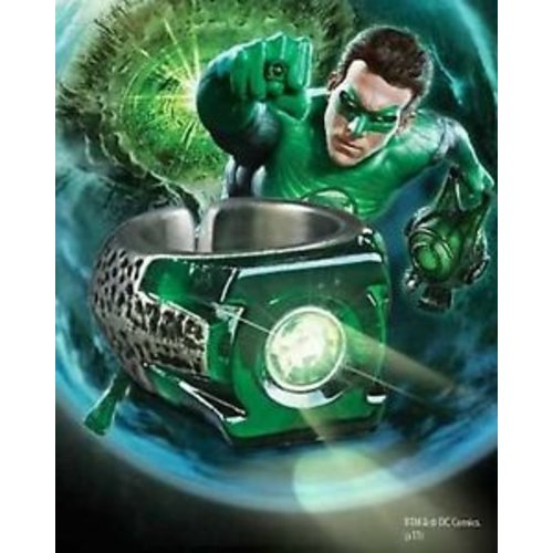 DC Comics Green Lantern Light up Ring Noble Collection