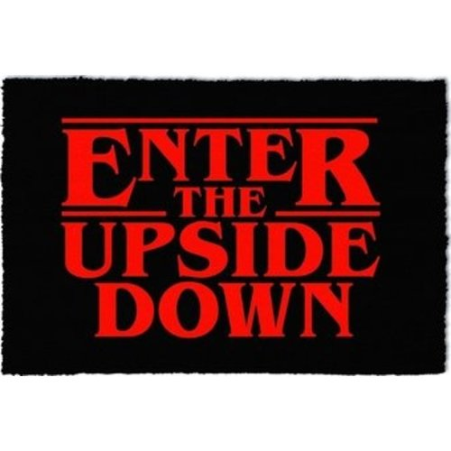 Stranger Things Enter The Upside Down Doormat 60x40 PVC met Kokosvezels