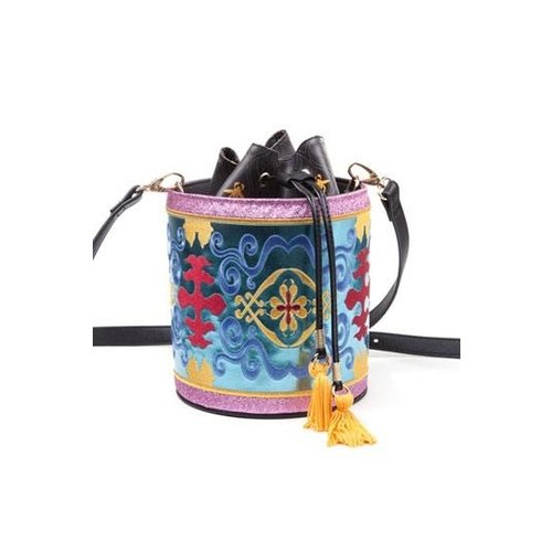 Disney Aladdin Magic Carpet Glitter Drawstring Bucket Bag