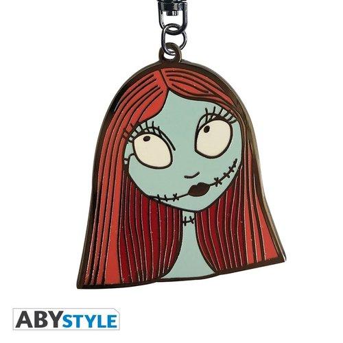 Nightmare Before Christmas Sally Metal Keychain
