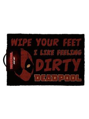 Deadpool Dirty Doormat 60x40 Pvc met Kokosvezels